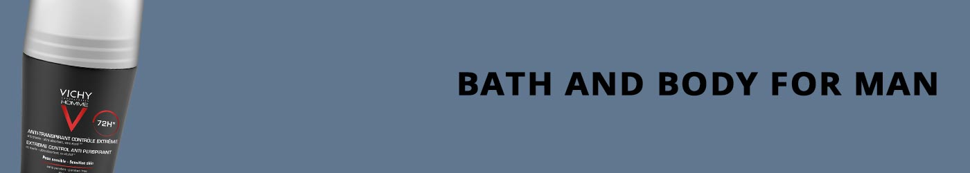 Bath and Body for man products