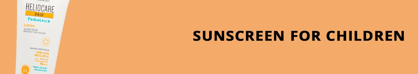 Sunscreen for Children