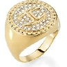 JUST CAVALLI JUST BANQUE , GLD |Ring