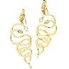 JUST CAVALLI MEDUSA GOLD | Earrings