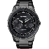 CITIZEN ECO-DRIVE METAL PRETO BU4005-56H