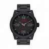 NIXON CORPORAL SS ALL BLACK STAMPED