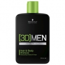 [3D]MEN Hair and Body Shampoo