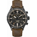 TIMEX WATERBURY CHRONO BROWN - TW2P64800