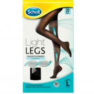 Scholl Light Legs 20Den Black