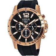 LORUS MEN CRONO PRETO - RT356EX9