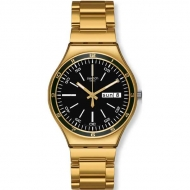 SWATCH FW12 CHARCOAL MEDAL YELLOW YGG705G