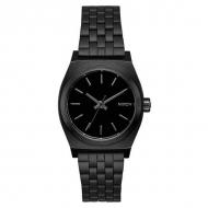 NIXON MEDIUM TIME TELLER ALL BLACK A1130-001
