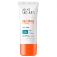 Express Double Care Sun Kiss Fluid SPF30