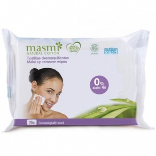 Organic Cotton Make Up Remover Wipes