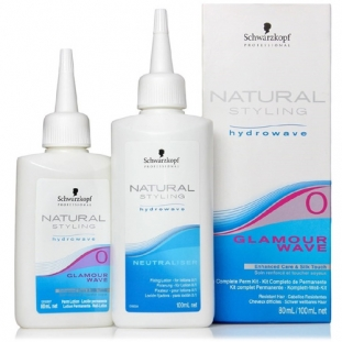 Natural Styling Glamour Wave Perm Kit 0