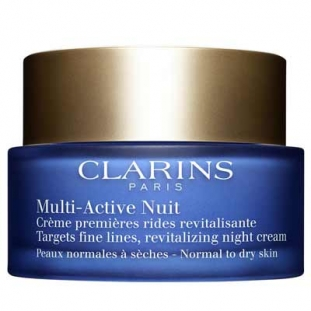 Clarins Multi-Active Nuit Crème Conf. Dry Skin