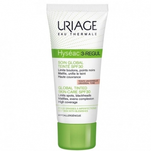 Hyséac 3-Regul Soin Global Teinté SPF30
