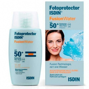 Fotoprotector Fusion Water SPF 50