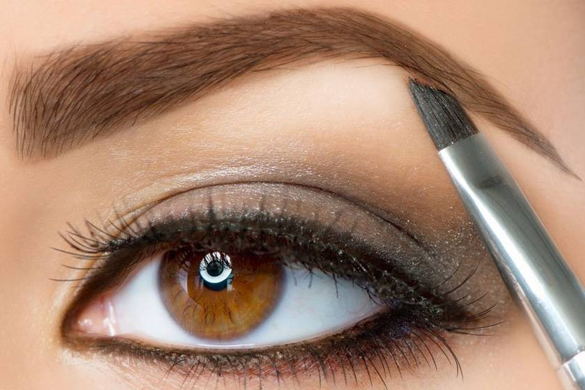How To Put Makeup On The Eyebrows At Loja Glamourosa