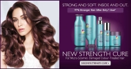 97% Stronger hair with Strenght Cure