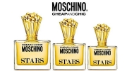 Brilha com Cheap & Chic Stars da Moschino