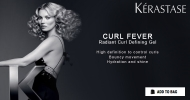 Bouncy and defined curls with Kérastase Curl Fever