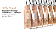 Skin beyond flawless with Clinique 2-in-1 foundation and concealer