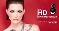 Dê uma nova cor ao seu rosto com HD Blush