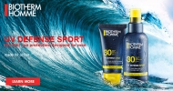 Biotherm Homme releases UV Defense Sport