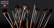 Everything you need to know about brushes with Make Up For Ever!