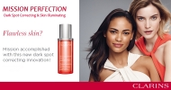 Beautiful, luminous and flawless complexion with Clarins